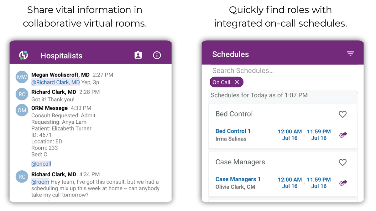Streamline clincial collaboration in real-time